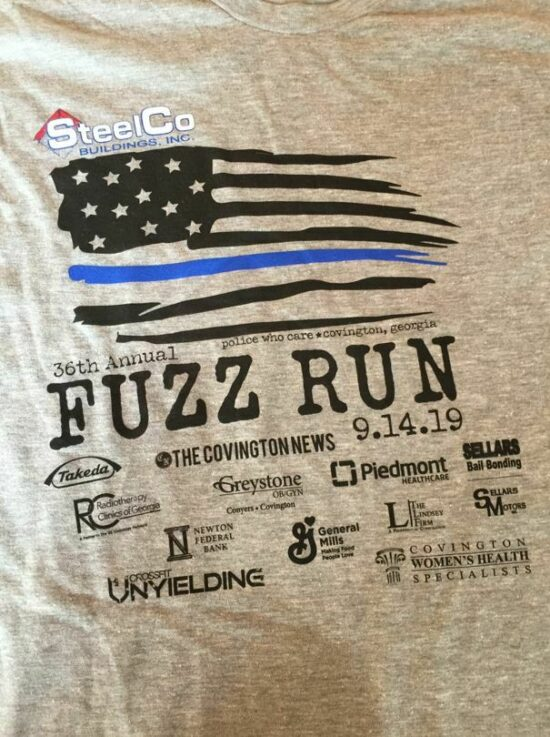 Come and Walk/Run with Us at the Covington Police Department's Fuzz Run